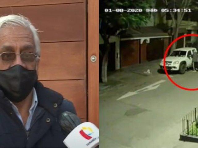 La Molina: Roban camioneta a empresario que había perdido su trabajo en minería por pandemia