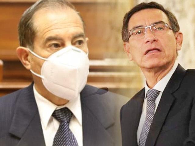 Walter Martos reemplaza a Pedro Cateriano en la PCM