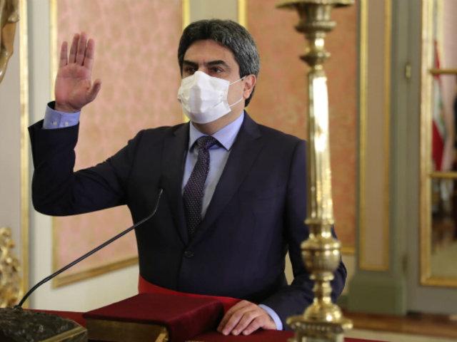 Martín Benavides es ratificado en la cartera de Educación del nuevo Gabinete Ministerial