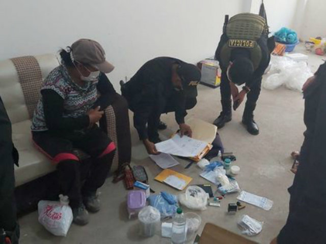 Ayacucho: detienen a enfermera que realizaba pruebas rápidas a domicilio