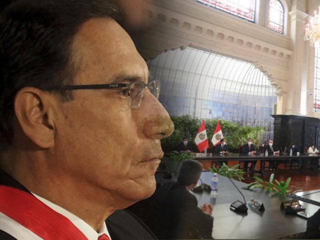 """Martín Vizcarra: """"No podemos perder tiempo con confrontaciones políticas y luchas de intereses"""""""