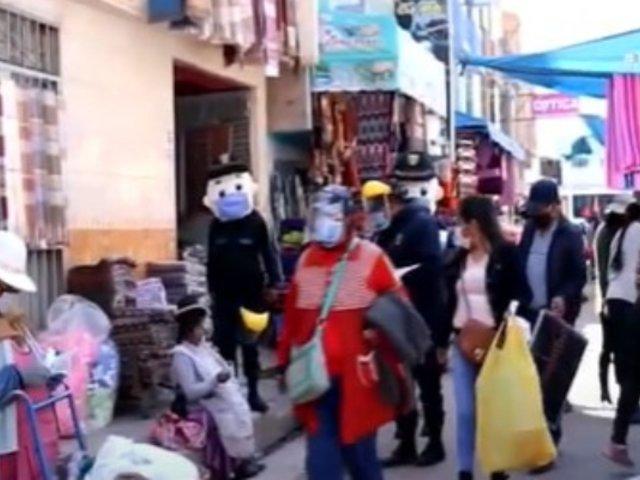 Juliaca: Población no acata cuarentena y continúa sus actividades con normalidad