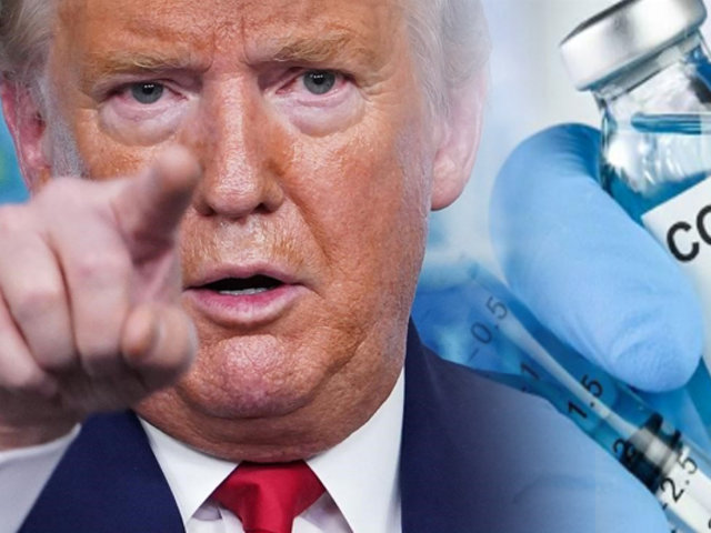Donald Trump ve posible una vacuna del COVID-19  para las elecciones en EEUU