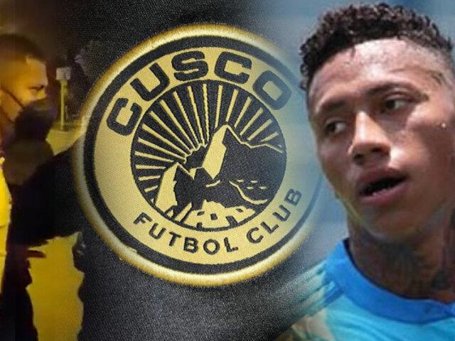 Ray Sandoval es anunciado como la nueva incorporación del Cusco FC
