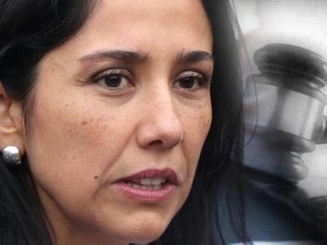 Nadine Heredia: PJ rechazó prisión preventiva por caso Gasoducto
