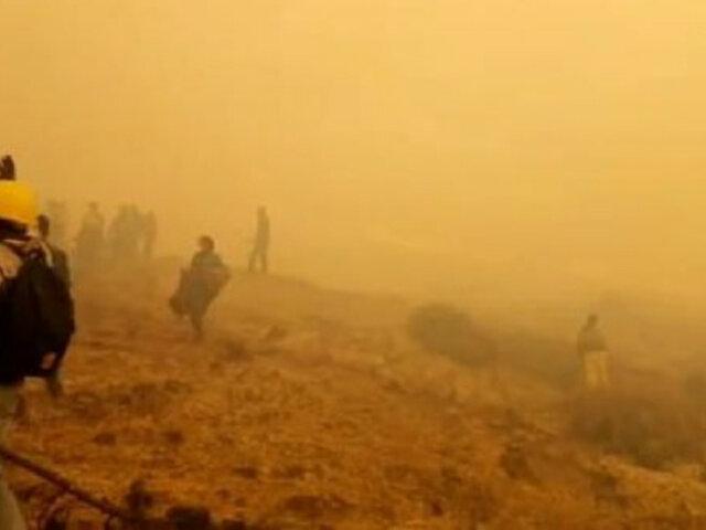 Cusco: al menos tres muertos tras incendio forestal en Quispicanchi