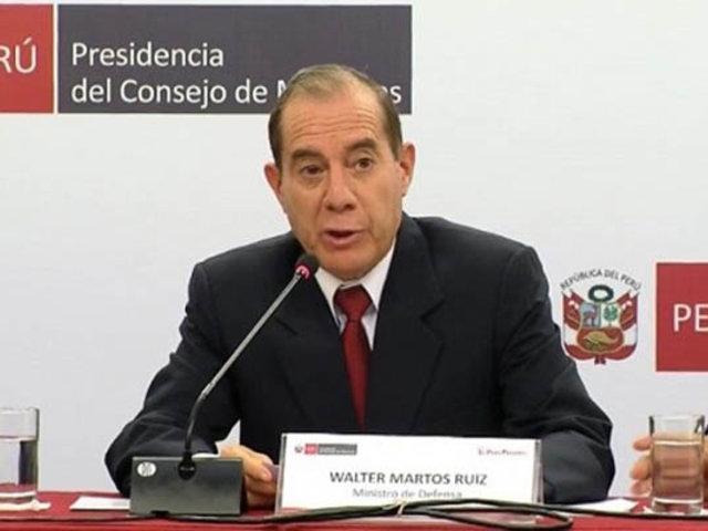 Voto de Confianza: premier Martos se presentará este martes 11 ante el Congreso