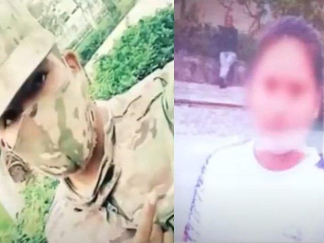Piura: Policía rescata a menor que habría sido secuestrada por soldado