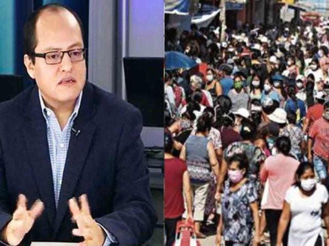 Víctor Quijada: Clase dirigente no ha sabido crear igualdad de oportunidades para todos