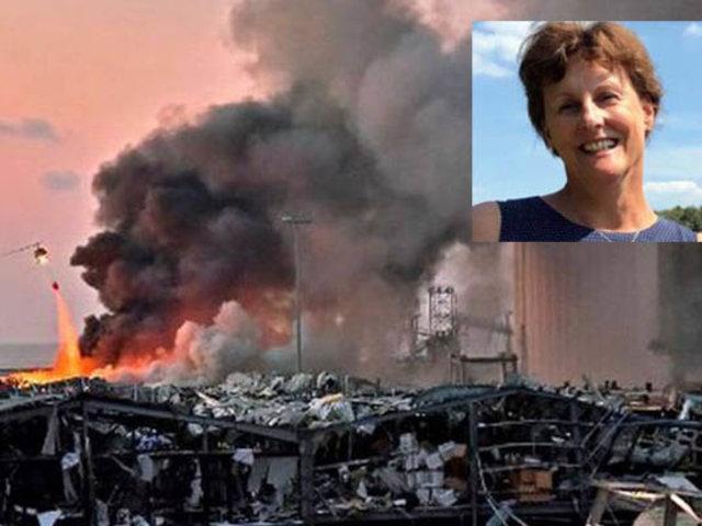 Murió esposa de embajador holandés en Líbano a causa de gigantesca explosión