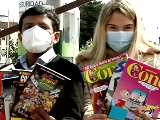 Experimento ASD: libro o revistas de entretenimiento ¿Con cuál se queda?