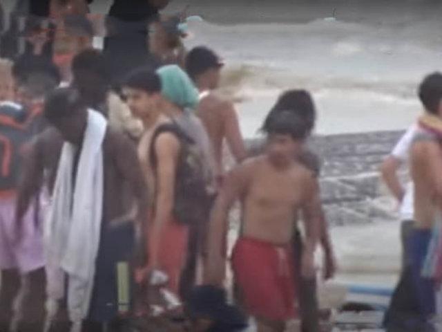 VIDEO: violenta pelea en playa de Bélgica por no cumplir distanciamiento social