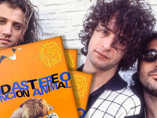 """Soda Stereo: su emblemático disco """"Canción Animal"""" cumple 30 años"""