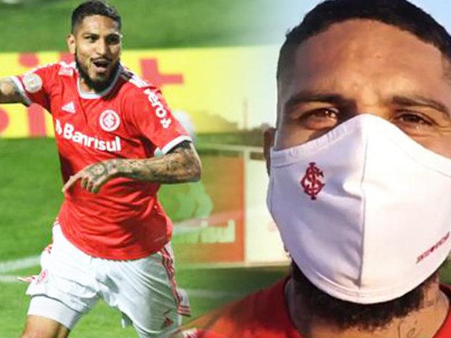 Paolo Guerrero anotó en el Inter de Porto Alegre vs. Coritiba