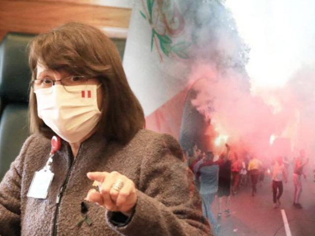 """Ministra de Salud: """"Tomaremos medidas estrictas si continúan comportamientos irresponsables"""""""