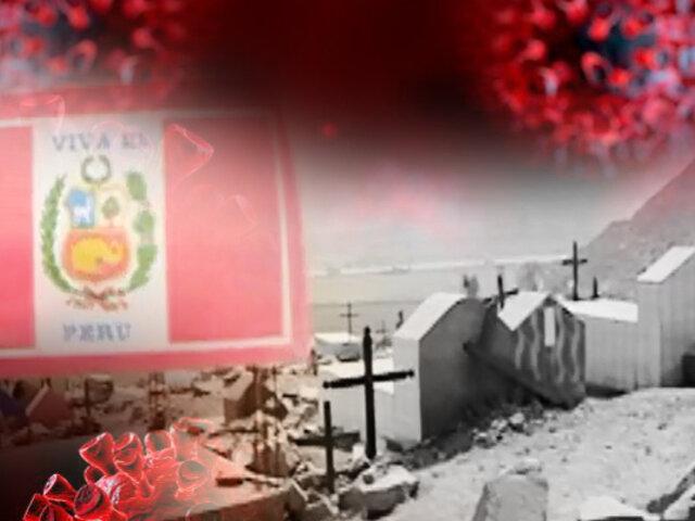El doloroso adiós en cementerios improvisados y clandestinos