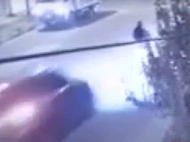 Huancayo: sujeto arrolló a ciclista con su vehículo y se dio a la fuga