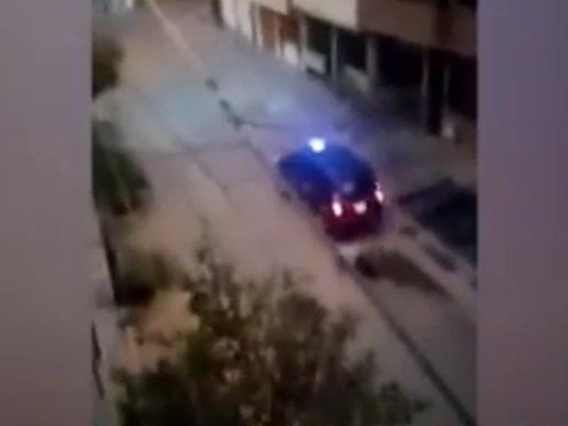 Carabayllo: delincuentes arrastran a taxista para robarle su vehículo