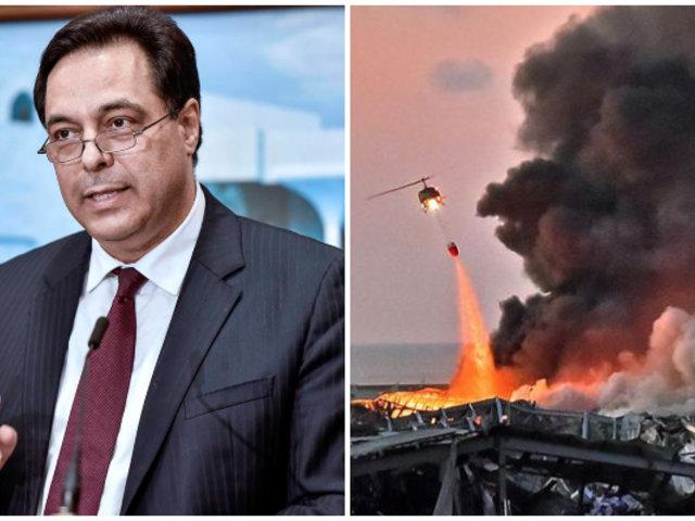 Tras explosión en Beirut: Primer ministro libanés anuncia su dimisión