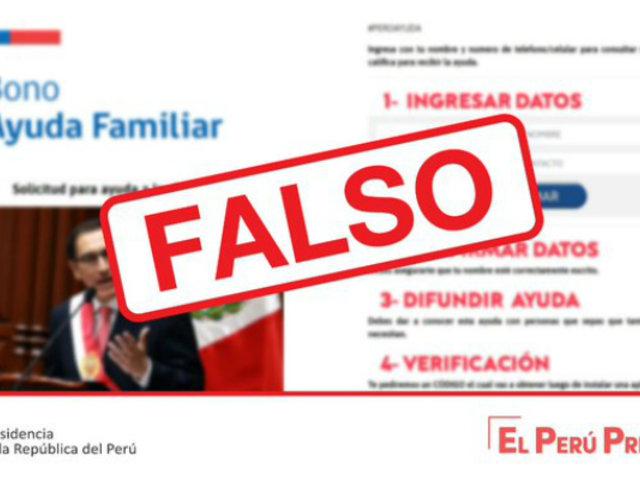 Bono familiar: ¡cuidado! advierten que web daría información falsa