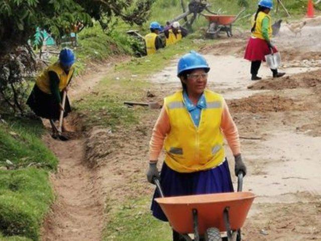 Cajamarca: municipio ejecuta nueve proyectos y dará trabajo temporal a 534 ciudadanos
