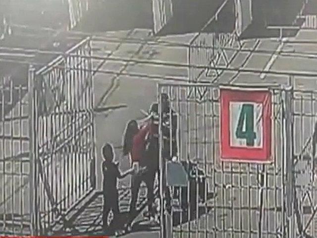 La Victoria: mujer agrede a serenos cuando pretendía ingresar a Gamarra con un menor