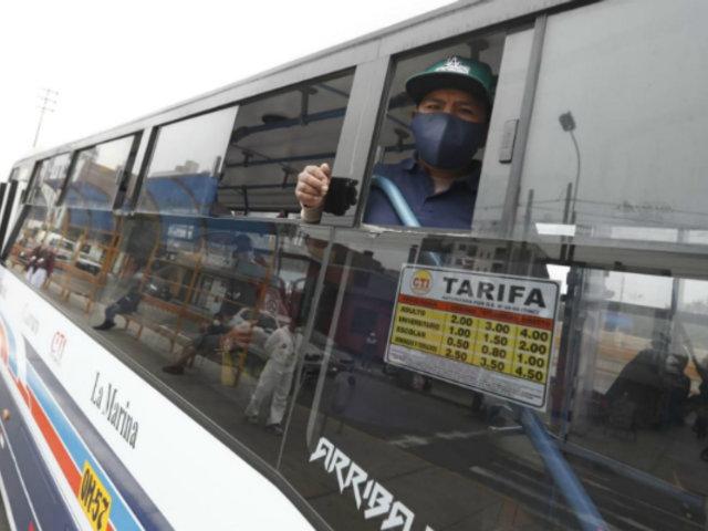 Contraloría: ATU contrató a proveedores sin experiencia para limpieza de buses