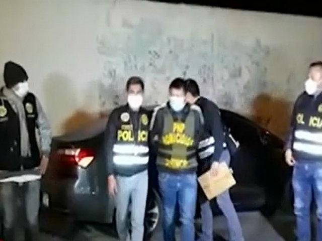 Barranca: capturan a miembros de organización criminal dedicada al sicariato y extorsión