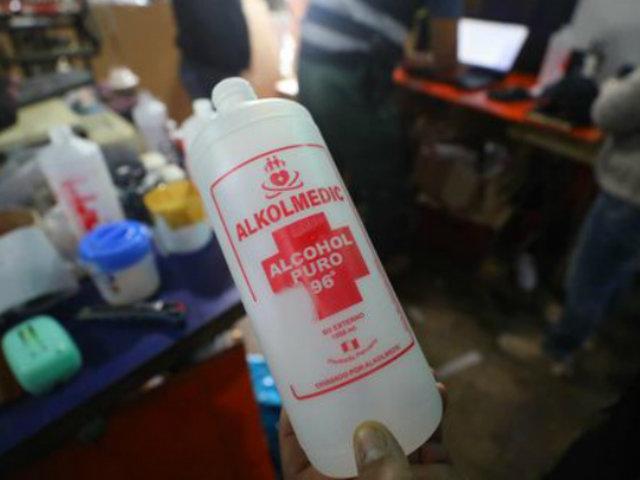 Covid-19: Digemid recomienda no usar alcohol de 96 grados como desinfectante para manos