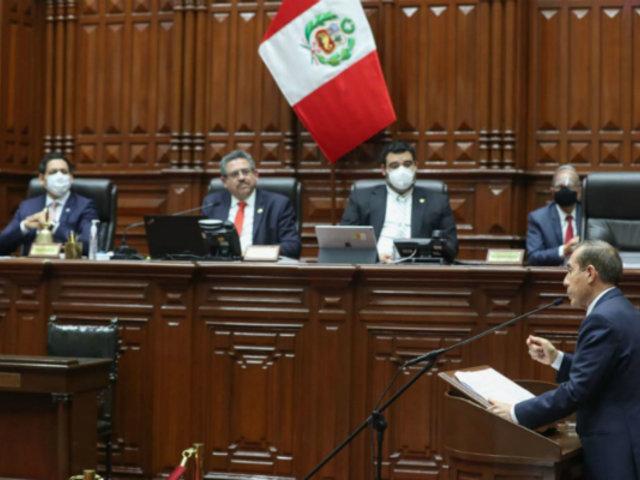 Congreso comunica a Martín Vizcarra que le otorgó la confianza al Gabinete Martos