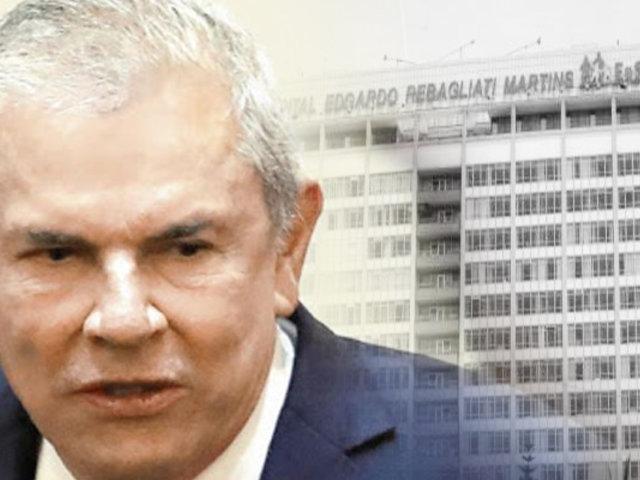 EsSalud dió de alta a Luis Castañeda Lossio tras dos semanas internado de emergencia