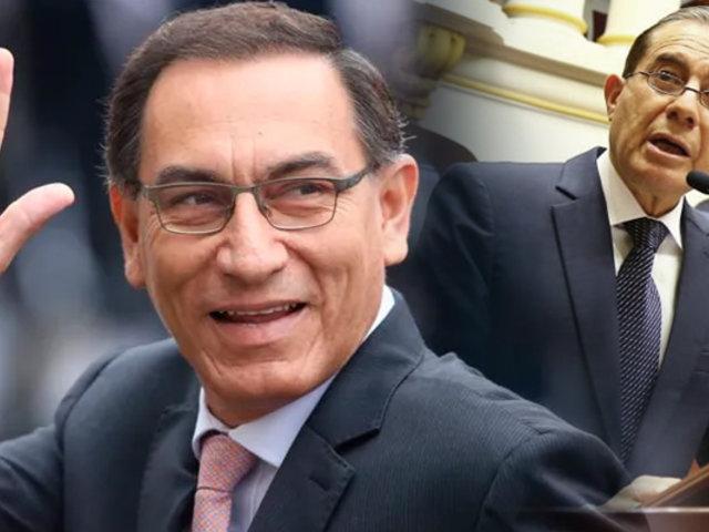 Presidente Martín Vizcarra saludó el voto de confianza otorgado a Gabinete Martos