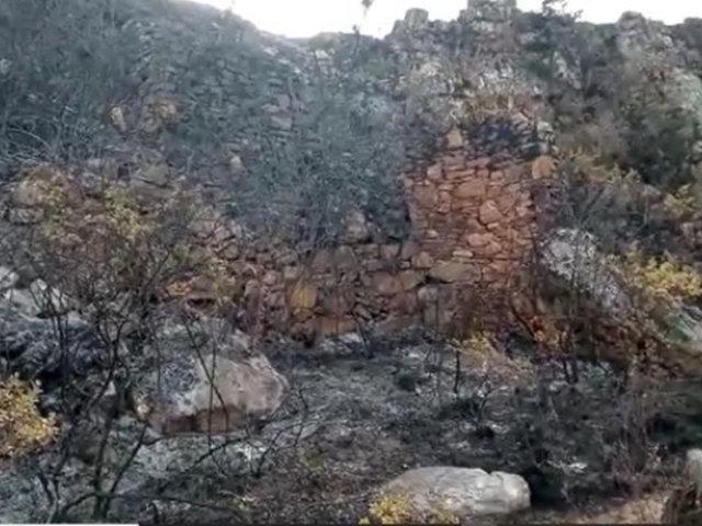 Incendios forestales en Áncash: siete sitios arqueológicos resultaron afectados