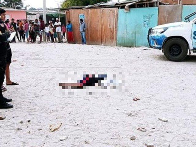 Niño falleció tras ser arrollado por vehículo pesado en Piura