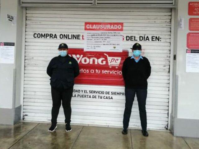 La Molina: clausuran supermercado y restaurantes por irregularidades en los servicios