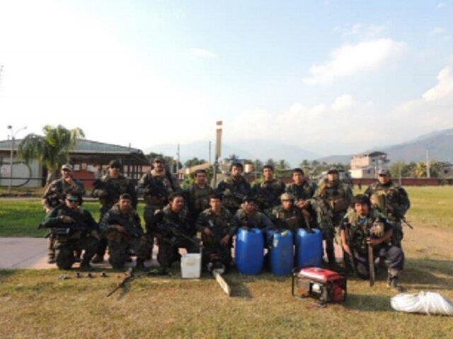 Vraem: patrullas combinadas intervienen en pistas de aterrizaje clandestinas