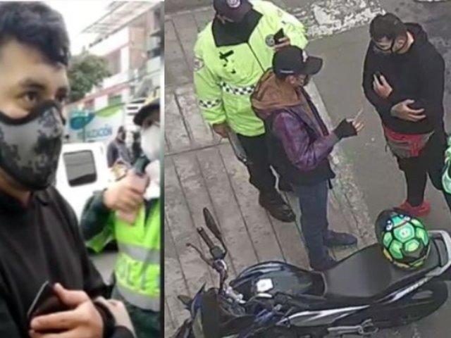 """Surco: Detienen a colombiano que prestaba dinero bajo la modalidad del """"gota a gota"""""""