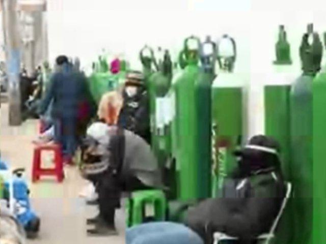 Aumenta demanda por oxígeno medicinal en Lima