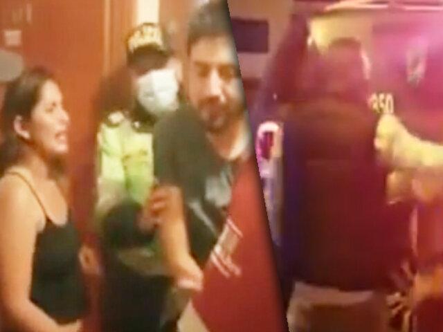 Pueblo Libre: detienen a jóvenes por armar escándalo en edificio