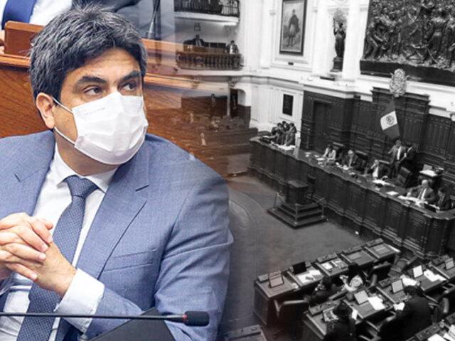 Interpelación a Benavides: parlamentarios inician debate