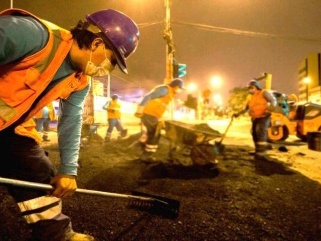 Av. Túpac Amaru: MML comenzó reparación del tramo entre Independencia y Comas