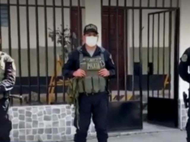 Apurímac: allanan inmuebles del gobernador regional por presunto caso de corrupción
