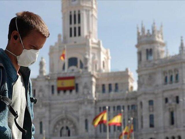 Casi 3 mil casos de COVID-19 registró España en 24 horas