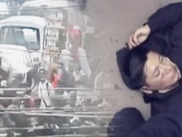La Victoria: serenos y ambulantes se enfrentan violentamente en calles de Gamarra