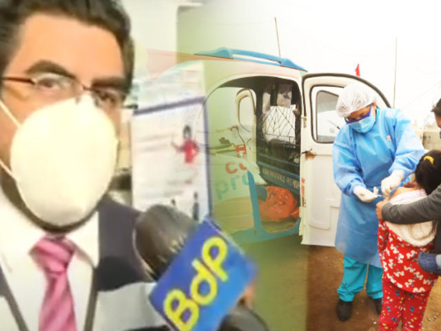 Se inicia vacunación a personas vulnerables en San Juan de Lurigancho