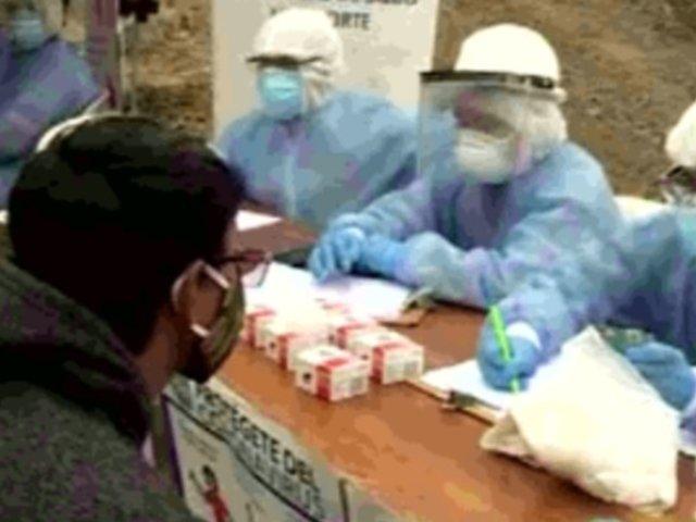 Comas: oxígeno, víveres y pruebas rápidas llegan a familias vulnerables