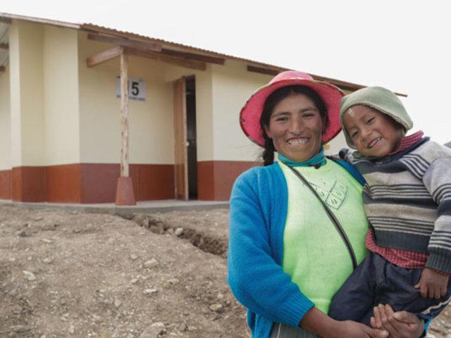 """Apurímac: construyen viviendas """"Sumaq Wasi"""" para combatir bajas temperaturas"""