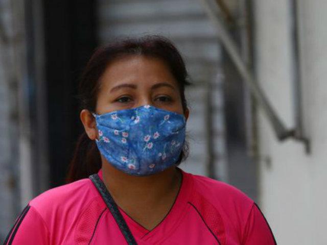 CMP: ciudadanos que salen a la calle deben usar mascarillas dentro de sus casas