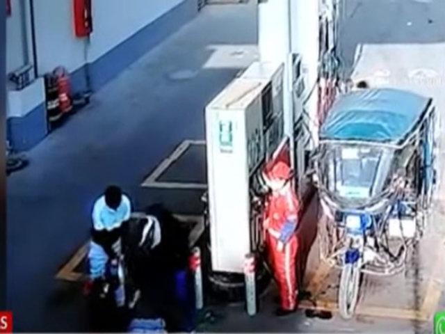 Delincuentes armados asaltan a trabajadoras de grifo a plena luz del día