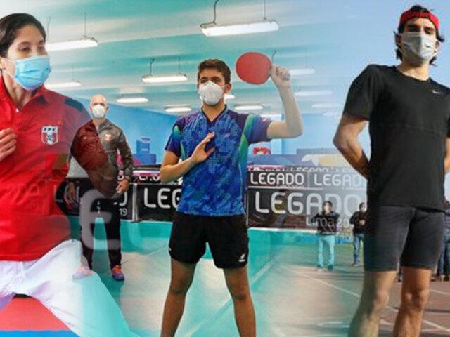 IPD: 16 deportes ya entrenan en sedes del Legado